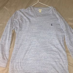 Men's small polo long sleeve